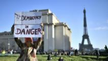 Proteste jurnaliști în Paris pentru libertatea presei