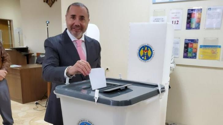 rizea a votat la alegerile din moldova