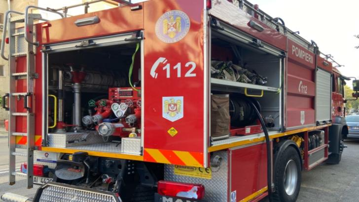 Incendiu violent într-o comună din Prahova