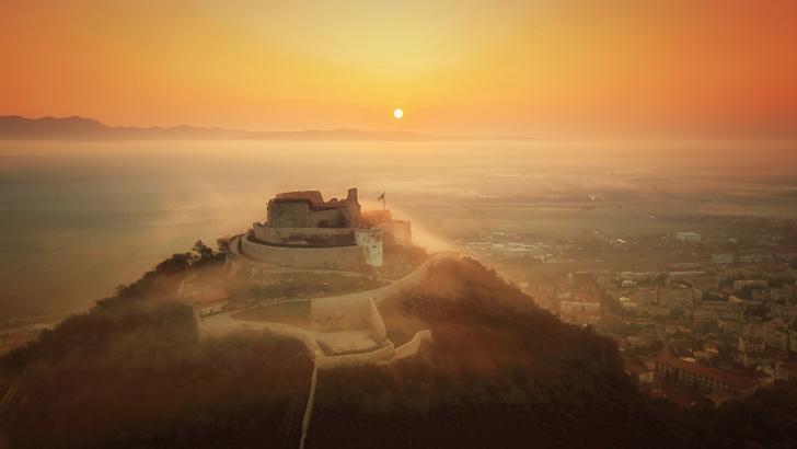Cetatea Deva. Foto: Wikipedia