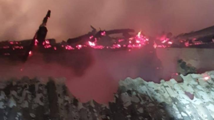 Incendiul de la spitalul judetean Piatra Neamt, 14 noiembrie 2020