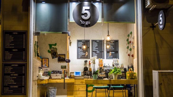 Lanțul de cafenele 5 to go, bilanț optimist pentru 2020. Octombrie, luna cu cea mai bună cifră de afaceri (P)