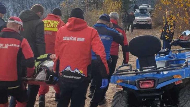 Accident cu ATV în Munții Apuseni. Au intervenit de urgență jandarmii și salvamontiștii din Alba Foto: Facebook.com