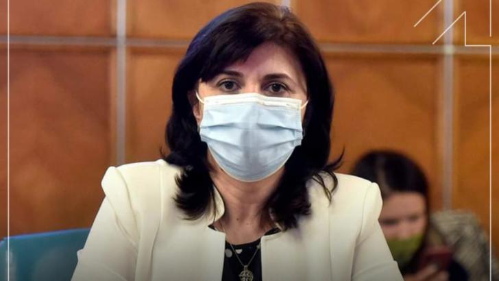 Monica Anisie: Rata de infectare în școli este foarte mică, dar riscurile în afara școlii sunt foarte mari