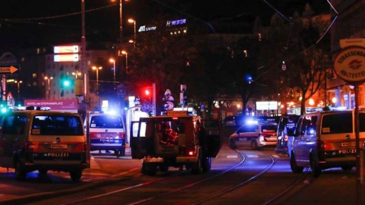Atac armat în  zona unei sinagogi din Viena, metropola este împânzită de poliție și forțe speciale