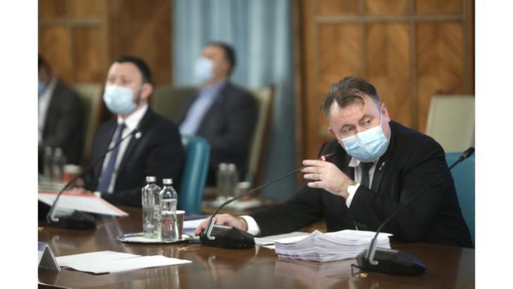 Ministrul Sănătății, Nelu Tătaru. Ședința de Guvern, 27 noiembrie 2020 Foto: Gov.ro