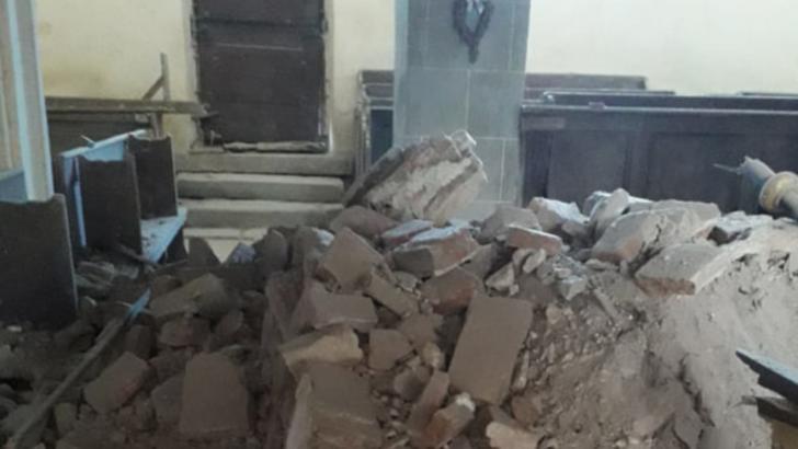 Ruinele unei biserici au fost descoperite la săpăturile pentru o parcare în Oradea