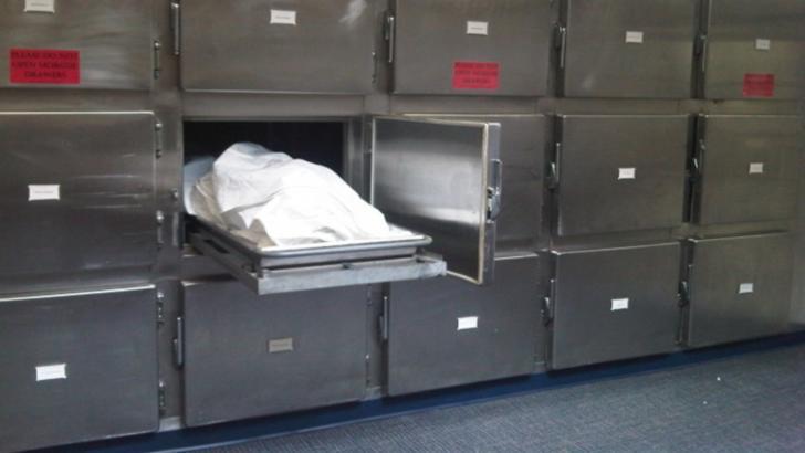 Al doilea container pentru decedații COVID, amplasat în curtea Spitalului Județean din Sibiu