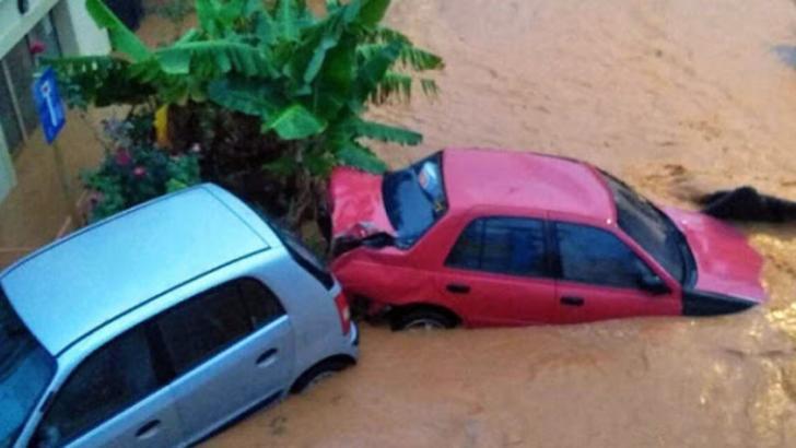 Inundații în Creta
