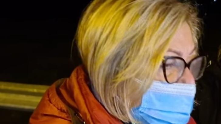 Carmen Dorobăț, manager Spital Boli Infecțioase Iași, la spitalul modular COVID de la Lețcani Foto: ziarpiatraneamt.ro