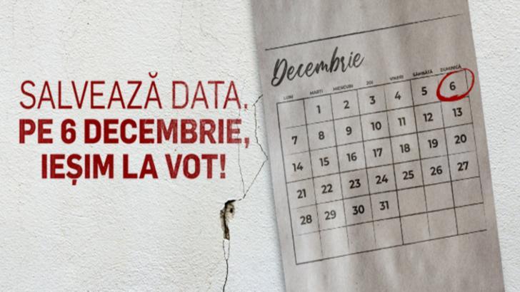 Alegeri parlamentare 2020. AMR 7 zile până la vot. Ce alegem pe 6 decembrie?