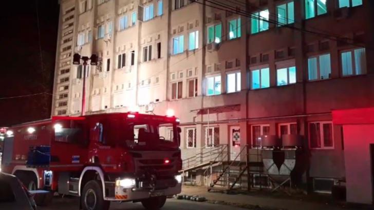Incendiu la secția ATI de la Spitalul Județean din Piatra Neamț: 10 bolnavi de COVID-19 au murit, 14 noiembrie 2020