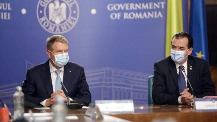 Klaus Iohannis si Ludovic Orban