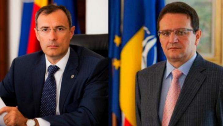George Maior, fost director SRI, și Florian Coldea, fost prim-adjunct al directorului SRI