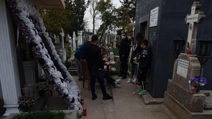 Moartea interlopului Emi Pian, comemorată la un grătar, chiar în cimitir. Rudele, amendate