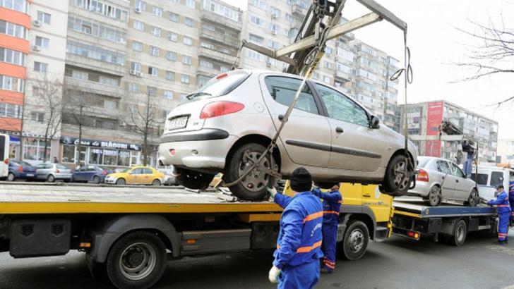 Mașinile parcate neregulamentar vor fi ridicate în Sectorul 6