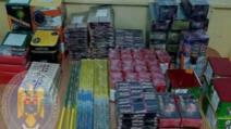 Mii de artificii și petarde, confiscate de jandarmii dâmbovițeni