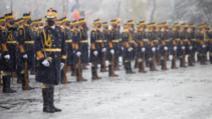 1 Decembrie, Ziua Națională a României - Ceremonie cu restricții la Arcul de Triumf / Foto: Alexandra Pandrea