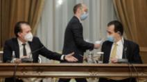 Orban, după învestirea lui Cîțu: Am arătat capacitatea de a ne uni pentru binele României / Foto: Inquam Photos, George Calin