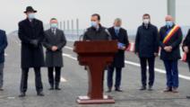 Orban, la inaugurarea primilor kilometri de autostradă din Moldova: E timpul să primiți ceea ce PSD promite de 30 de ani