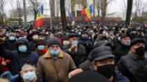 Protest de amploare la Chișinău! Peste 50.000 de oameni s-au adunat în centrul orașului