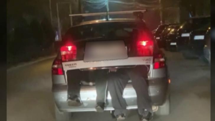Situație inedită în trafic la Buzău! Femeie amendată pentru că își transporta soțul în portbagaj