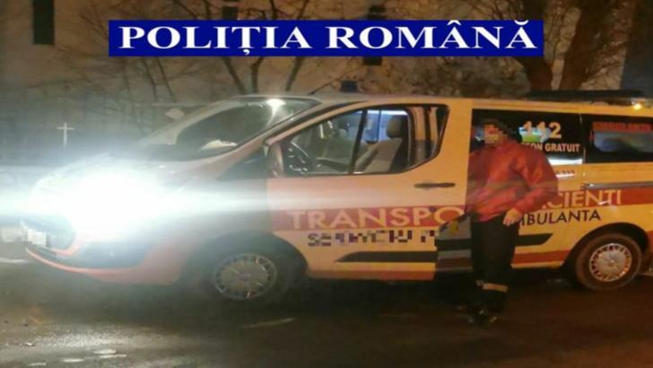 Caz halucinant în județul Ialomița: Şofer de ambulanţă prins băut la volan