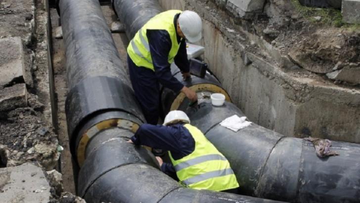 Termoenergetica face reparații la rețeaua de termoficare. Foto/Arhivă