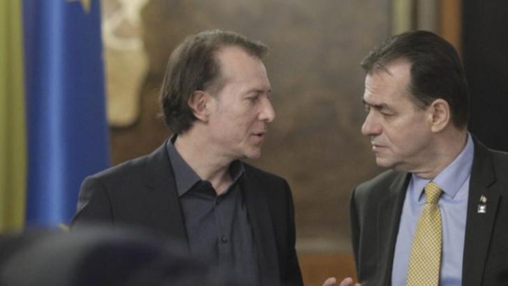 Florin Cîțu și Ludovic Orban Foto: Inquam Photos / Octav Ganea
