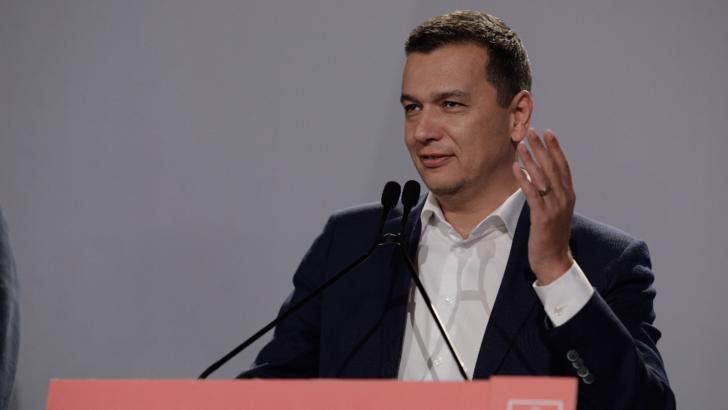 Sorin Grindeanu, prim-vicepreședinte PSD Foto: INQUAM