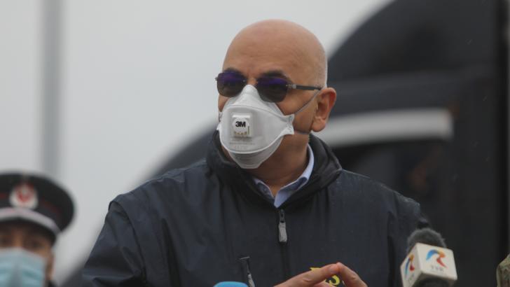 Raed Arafat, șeful Departamentului pentru Situații de Urgență (DSU)