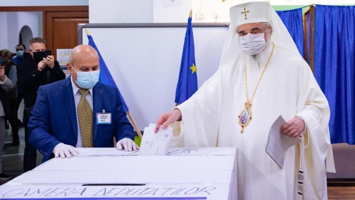 Patriarhul Daniel a votat la alegerile parlamentare 2020 Foto: basilica.ro