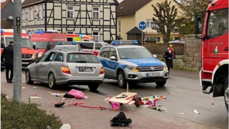 Stare de alertă în Germania: doi morți și mai mulți răniți, după ce o mașină a intrat în mulțime, în orașul Trier