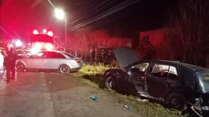 Şapte persoane au fost rănite într-un accident rutier produs într-o localitate din Satu Mare