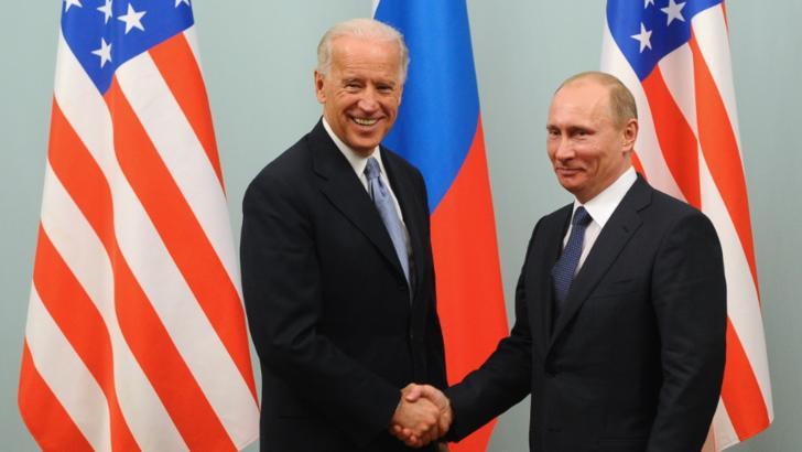 Joe Biden și Vladimir Putin, martie 2011