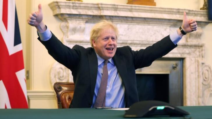 Ursula von der Leyen și Boris Johnson, anunț despre acordul istoric post-BREXIT cu UE
