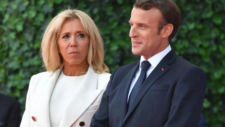 Brigitte Macron, soția președintelui Franței, nu are Covid-19