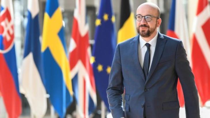 Președintele Consiliului Europei, Charles Michel