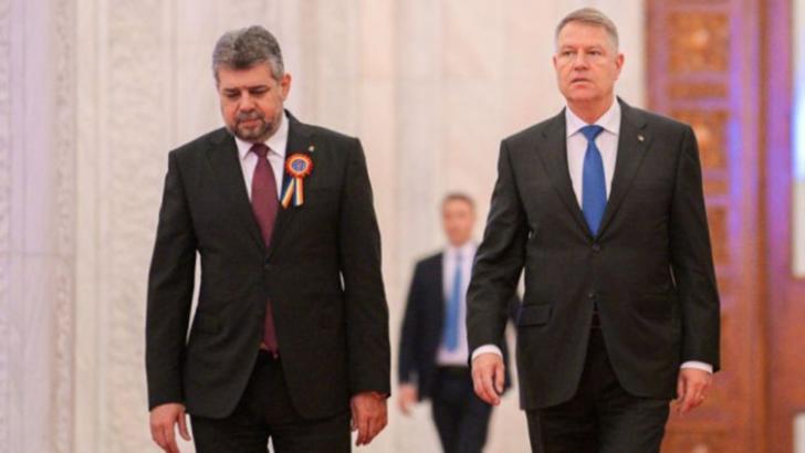 Ciolacu spune că nu dă mâna cu Iohannis. Foto/Inquam
