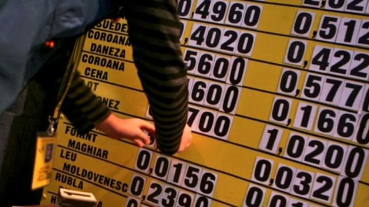 Euro a atins vineri un nou maxim istoric în raport cu leul. Foto/arhivă