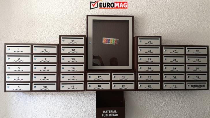 Euromag reinventează clasica imagine a cutiilor poștale, un produs în continuare necesar. Iată de ce