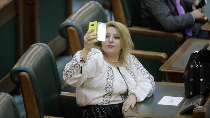 Diana Șoșoacă. Foto: Inquam Photos/George Călin