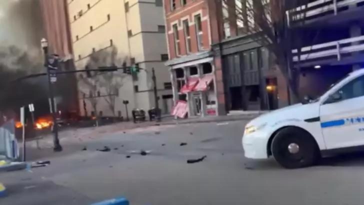 Explozie în SUA. Foto: captură NewsChannel5