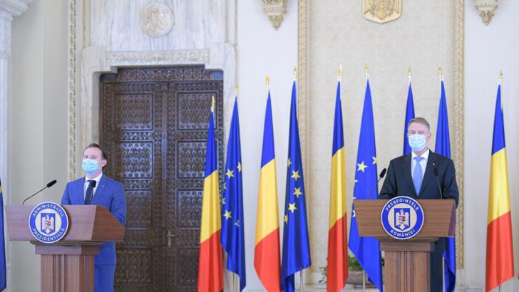 Florin Cîțu, premier, și Klaus Iohannis, președintele României Foto: Administrația prezidențială