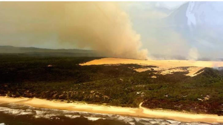 Australia, lovită din nou de incendii de vegetație. Ce se întâmplă cu focul din Insula K'gari