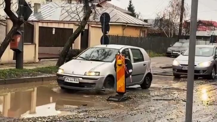 Focșaniul – abandonat după alegeri, calvar pentru șoferi