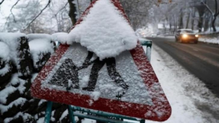 Cod GALBEN de ninsori și viscol în trei județe - Atenționare de vreme severă imediată