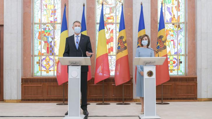 Klaus Iohannis și Maia Sandu, Chișinău, 29 decembrie 2020 Foto: Administrația Prezidențială