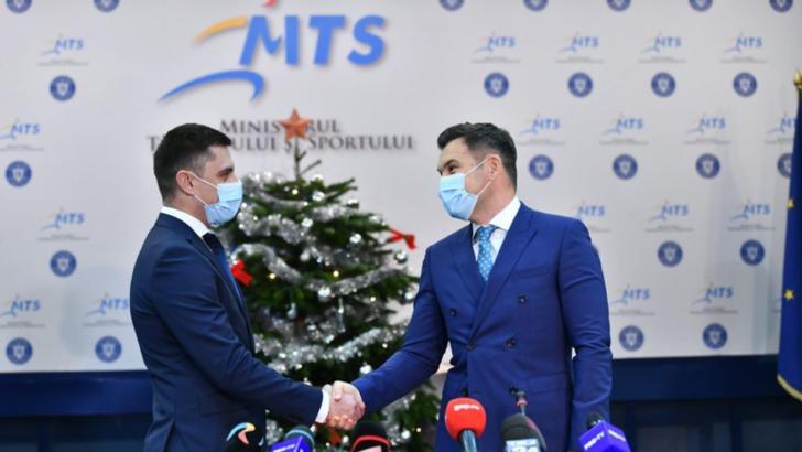 """Mesajul noului ministru al MTS la învestirea în funcție: """"Provocările sunt combustibil pentru mine"""""""