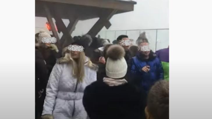 VIDEO Petrecere pe Postăvarul, zeci de oameni NU respectă nicio regulă de protecție și distanțare